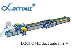 What is the procedure for LOCFOME duct auto line V?